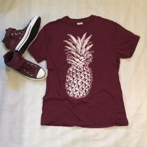 Tops - pineapple t shirt (shoes available)